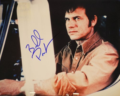 - Bill Paxton In-Person Autographed 8x10 Color Photograph - Signed in Blue Sharpie - From A Simple Plan - Aliens / Tombstone / Titanic / Frailty / Big Love / Hatfields & McCoys - Rare - Collectible