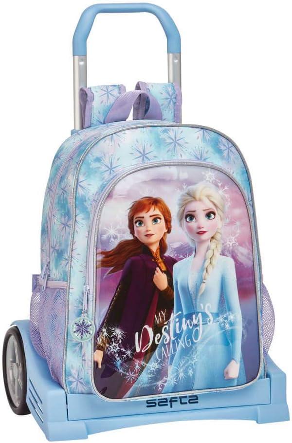 Frozen II - Mochila Safta Espalda Ergonómica con Carro Safta Evolution