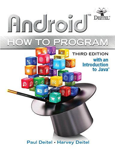 Android How to Program (3rd Edition) by Pearson