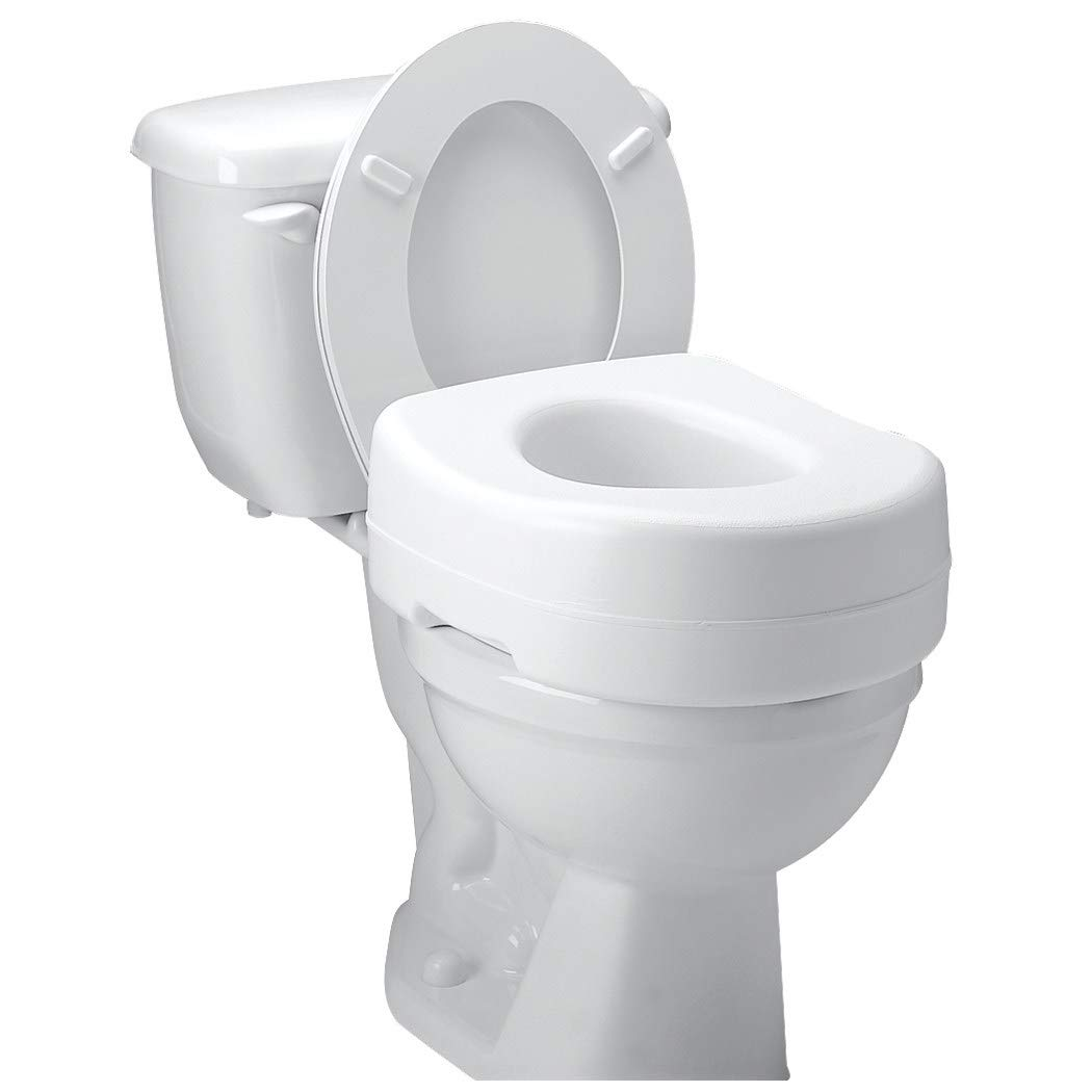 Seat Toilet Raised 5'' - Item Number FGB302C0 0000 - 1 Each / Each - by Carex Healthcare
