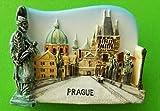 Charles Bridge Prague City of the Czech Republic Europe Magnets Souvenirs Thailand Vintage HandMade Design