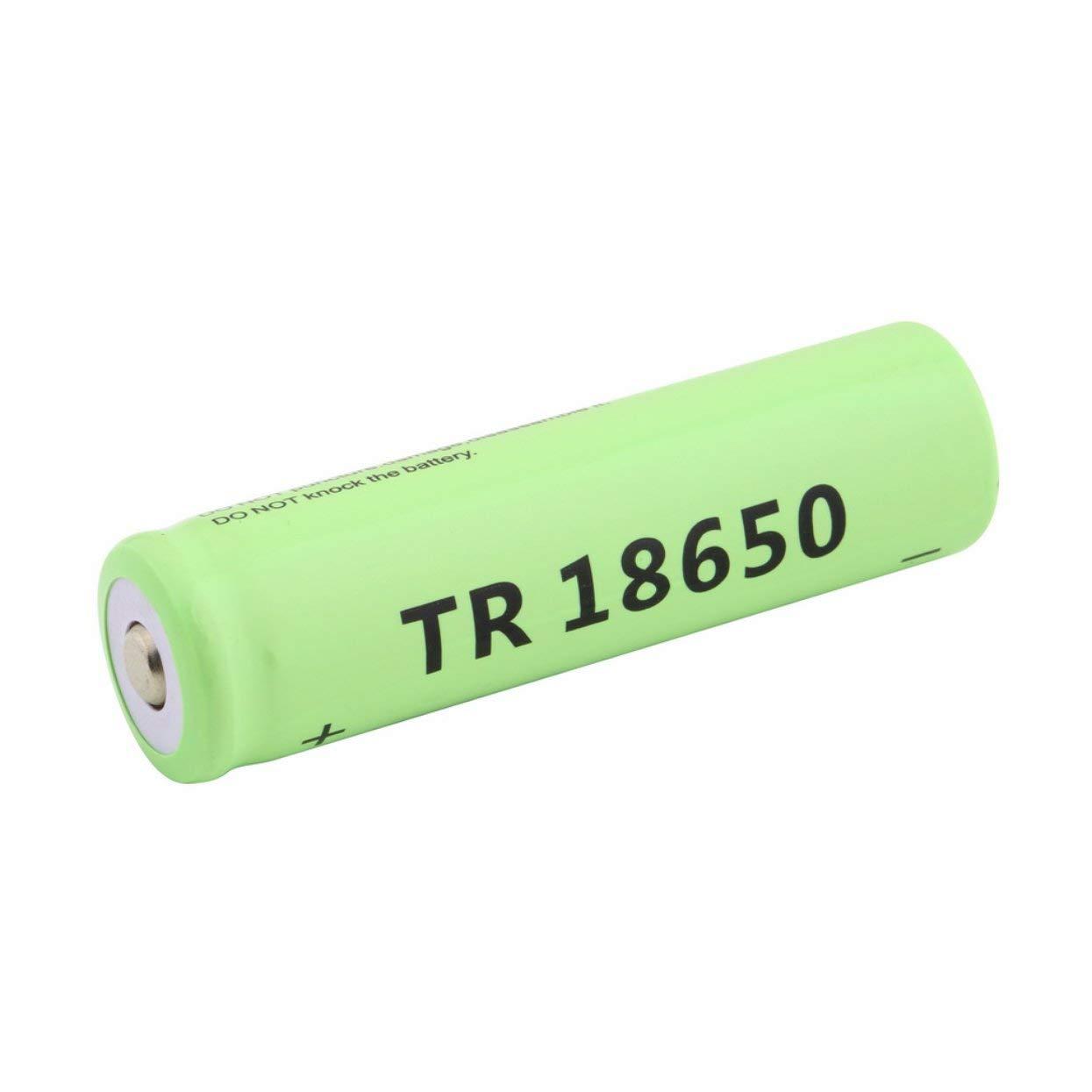 18650 Li-Ion 5800mAh Kapazität 3,7 V Akku für LED Taschenlampe Blau Taschenlampe Batterien LoveOlvidoD