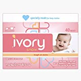 Ivory Snow Baby Powder Laundry Detergent, 40 Loads - Packaging May Vary