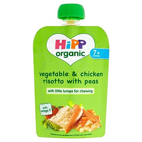 HiPP Bio-Gemüse-Risotto & Chicken Pouch 7 Mon. + 130g Hipp Organic