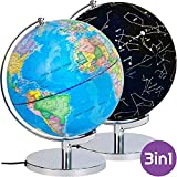 Best Illuminated Globes - LYNICESHOP Illuminated Constellation World Globe for Kids Review