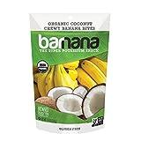 Barnana Organic Chewy Banana Bites, Coconut, 3.5 Ounce