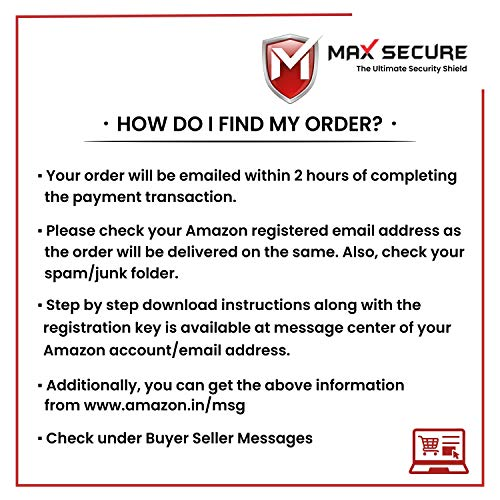 Max Secure Anti-Virus Plus with Ransomware Protection ( Windows ) - 1 PC 1 Year (Email Delivery in 2 Hours - No CD) 7