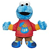 Sesame Street Talking 123 Cookie Monster Figure