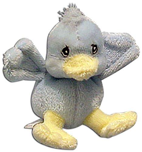 Precious Moments Tender Tail Mini Plush Ornament Blue Chick
