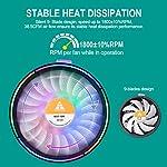 GOLDEN-FIELD-MHT-Heatsink-Fan-Low-Noise-CPU-Air-Cooling-Cooler-Fan-Radiator-For-Intel-LGA-115X-Socket-AMD-All-Series