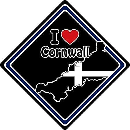 I Love Cornwall Car Sign (3) 51eQ7AOChEL