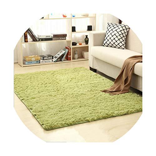 Carpet Home Bedroom Floor Dining Room Mat Living Room Area Rug Home Textile,Grass Green,60cm x - Tiles City Carpet Kansas