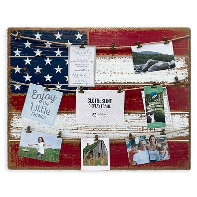 Malden 21-Inch x 27-Inch American Flag Frame Collage ()