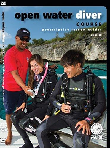 PADI OPEN WATER DIVER DVD FOR INSTRUCTORS prescriptive lesson guides IDC CD-ROM #70852 - Padi Open Water Dvd