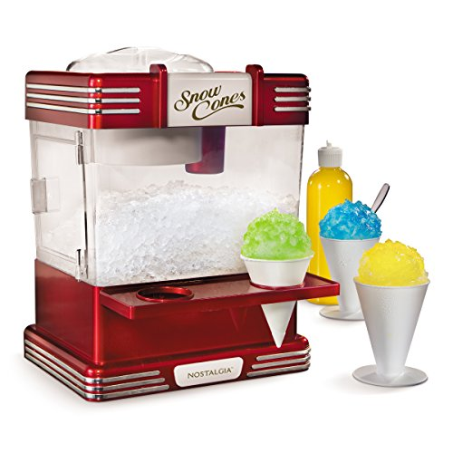 Nostalgia RSM602 Retro Snow Cone Maker (Best Popcorn Machine For Home Use)
