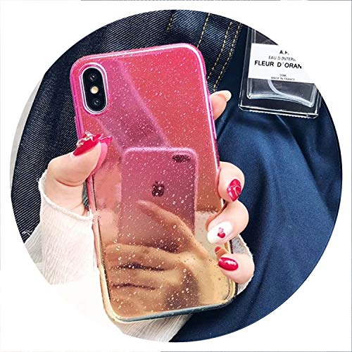 - Phone Case for iPhone X XR XS Max 8 7 6 6s Plus Funny Water Drop Cover Colorful Gradient Rainbow Cases for iPhone X,Tch,for iPhone 8