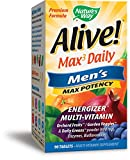 Nature's Way Alive! Max3 Daily Men's Multivitamin, Food-Based Blends (1,130mg per serving) and Antioxidants, 90 Tablets For Sale