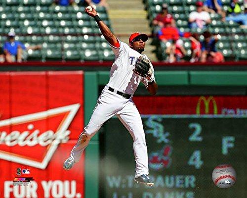 Elvis Andrus Texas Rangers 2017 MLB Action Photo (Size: 8