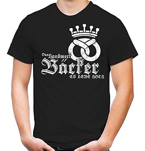 Bäcker T-Shirt | Bau | Handwerk | M1