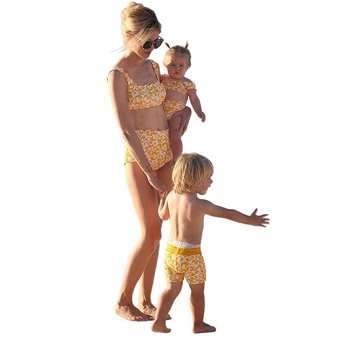 Amazon.com: Mammy and Me Trajes de baño familiares, traje de ...