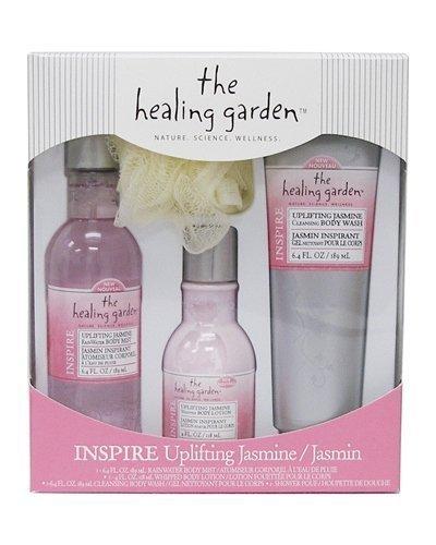 The Healing Garden Gift Set, Uplifting Jasmine by The Healing ()
