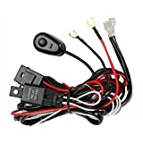 Prime Choice Auto Parts WH840AB Light Bar Wiring Harness With On/Off Button Kit
