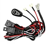 01 chevy blazer parts - Prime Choice Auto Parts WH840AB Light Bar Wiring Harness With On/Off Relay Switch Kit