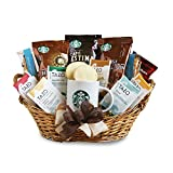 coffee and tea gift basket - California Delicious Starbucks Daybreak Gourmet Coffee Gift Basket