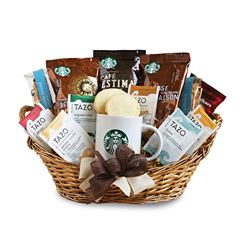 California Delicious Starbucks Daybreak Gourmet Coffee Gift Basket by California Delicious
