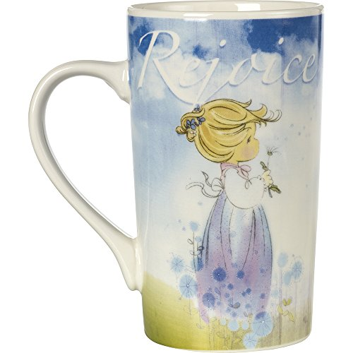 Precious Moments, Rejoice, Porcelain 16-ounce Mug, 164452
