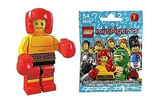 8805 boxer mini fig block building blocks Lego Mini Figure Series 5 SIDE B LEGO minifigures #