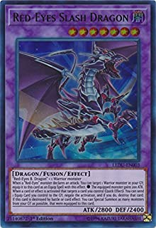 Red-Eyes Slash Dragon - LEDU-EN003 - Ultra Rare - 1st Edition -