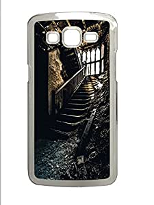 Samsung 2 7106 Case Staircase PC Samsung 2 7106 Case Cover Transparent