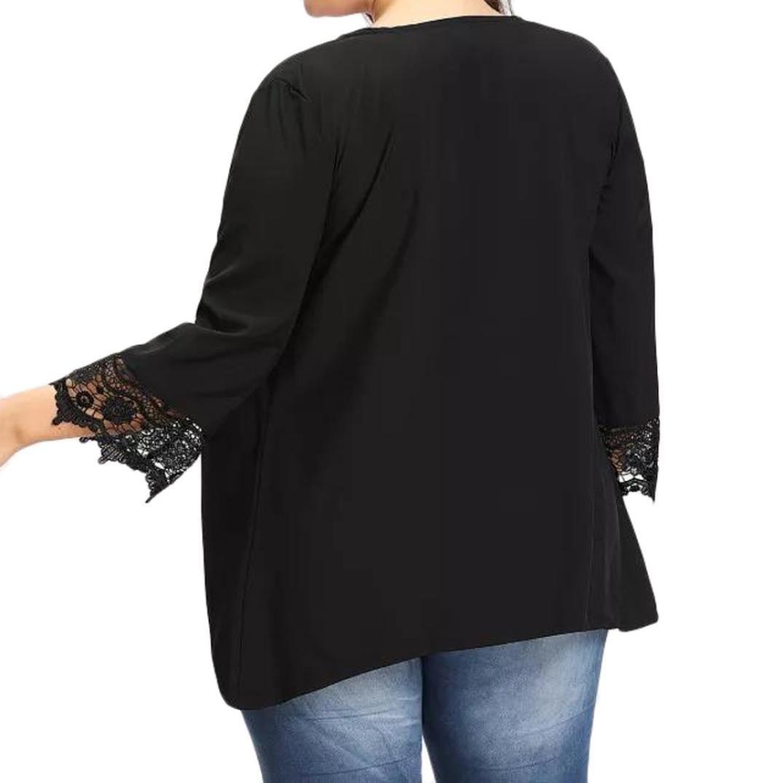 ❤ Rebeca para Mujer Talla Grande,Kimono Ligero Causal Ligero Causal de Encaje Abierto Absolute: Amazon.es: Ropa y accesorios