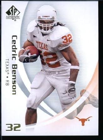 2010 Upper Deck SP Authentic NCAA Football Card IN SCREWDOWN CASE  18 Cedric  Benson Mint a51f0de62