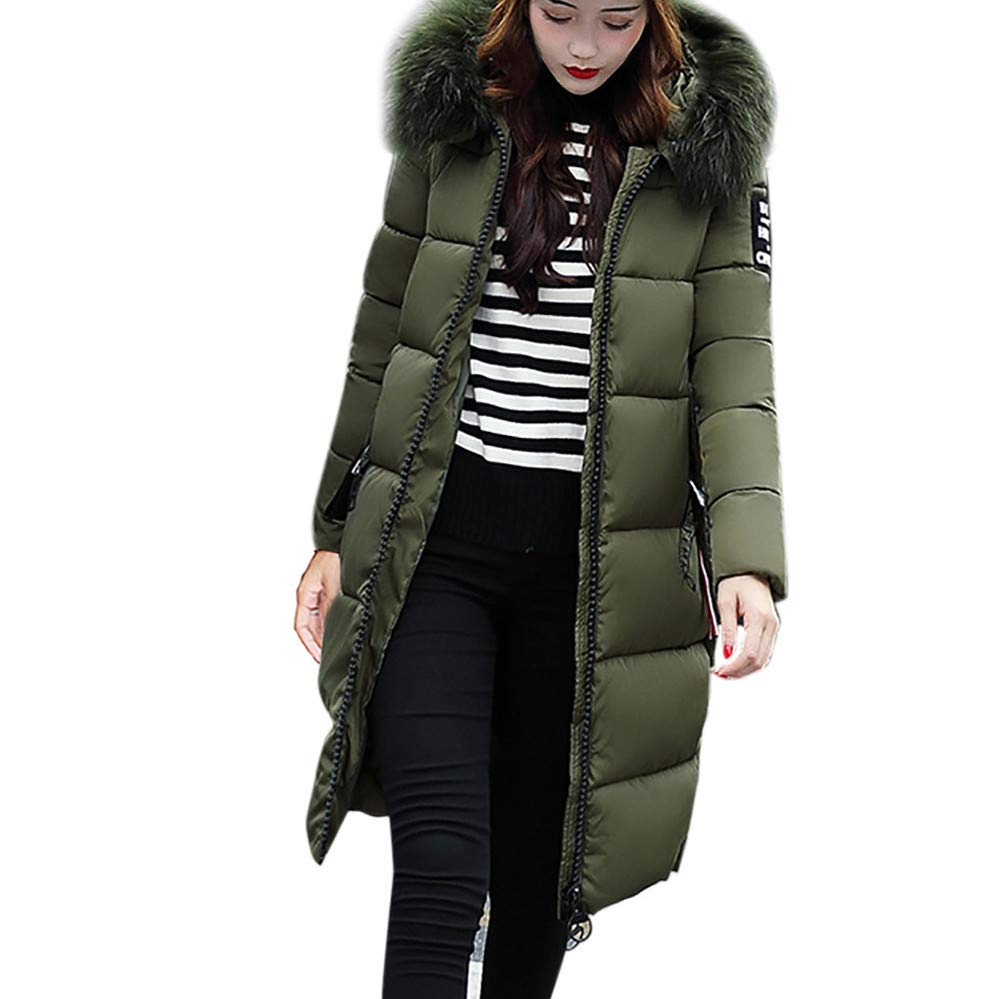 Women Solid Casual Thicker Winter Slim Down Lammy Jacket Coat Overcoat