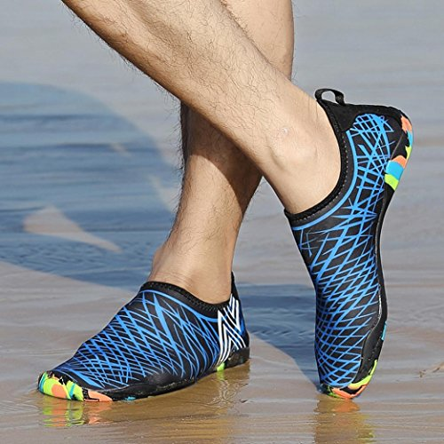 Men Shoes Socks HEHEM Snorkeling Casual Yoga Boat Shoes Men Mens Shoes Running Beach Diving Outdoor Basketball Surf Shoes Swim Sport Women Blue Mens Sandals Water Shoes Shoes Sports wABxOCEq