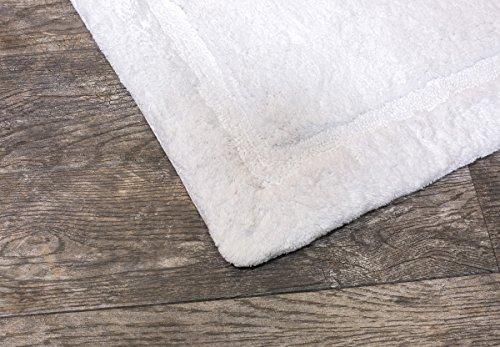 Grund Asheville Series 100% Organic Cotton Bath Rug 24-Inch by 40-Inch White by Grund (Image #1)