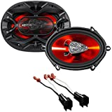 Boss 5x7 Front Speaker Replacement Kit For 1999-2004 Ford F-250/350/450/550