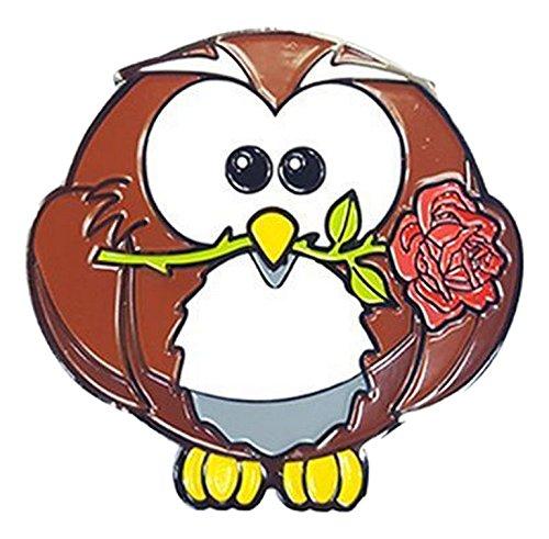 Geo de envío schuuhuu The Owl Geocoin Trackable búho, One Size, 10698