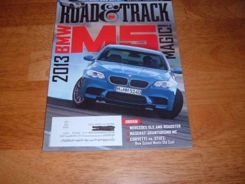 Road & Track Magazine December 2011 (Single Issue) 2013 BMW M5