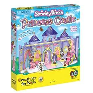 Creatividad para niños - Shrinky Dinks princesa Castillo