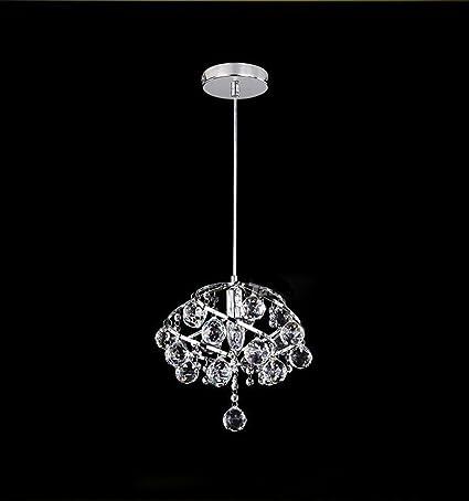 Diy ®Cromo-plateado Lámparas de Cristal, Lámpara de Cristal ...