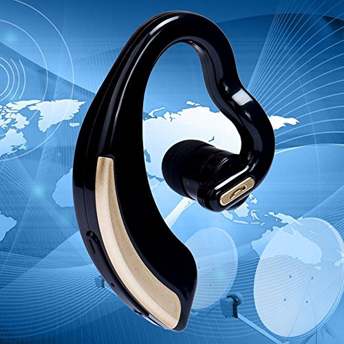 V18 Touch Control Wireless Bluetooth Earpiece Hd Stereo Noise Canceling V4.0 Headphones For Business Sport Ear Hook In…