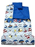 SoHo kids At The Sea children sleeping slumber bag with pillow and carrying case lightweight foldable for sleep over