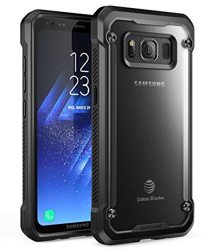 Samsung Galaxy S8 Active Case, SUPCASE Unicorn Beetle Series Premium Hybrid Protective Frost Clear Case for Samsung Galaxy S8 Active 2017 Release (Not Fit Regular Galaxy S8/S8 Plus) (Frost/Black)