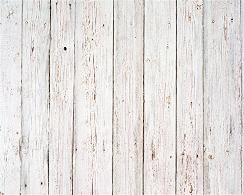 AOFOTO 5x4ft Vintage Wooden Plank Photography Background Old Wood Fence Backdrop Retro Hardwood Board Weathered Panel Kid Baby Adult Artistic Portrait Photoshoot Studio Props Video Drape Wallpaper (Fence Backdrop)