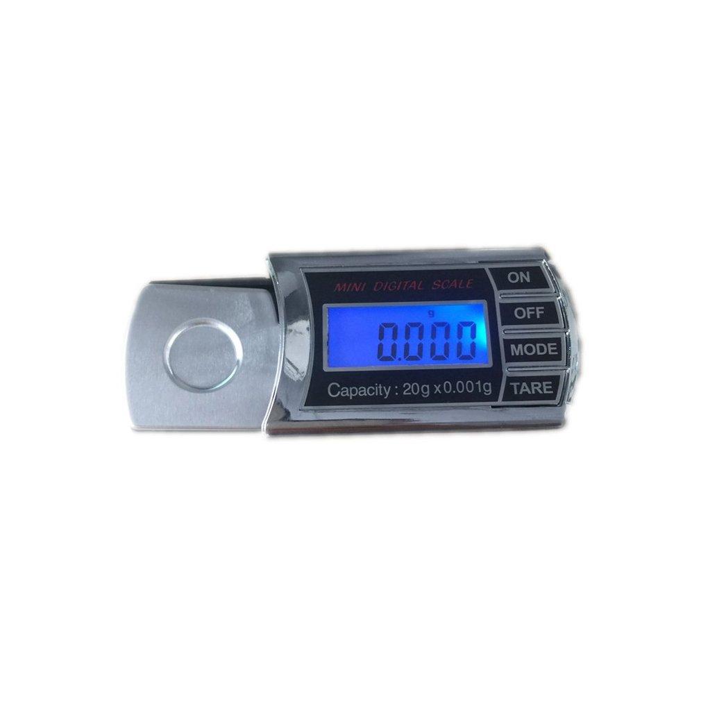 0.001g LCD-Digital-Taschen-Skala Mini elektronische Waage Schmuck Pr/äzisionswaage Waage Werkzeuge Lorsoul 20g