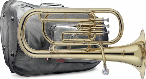 Stagg WS - BH235S Bb Baritone with Soft Case by Stagg
