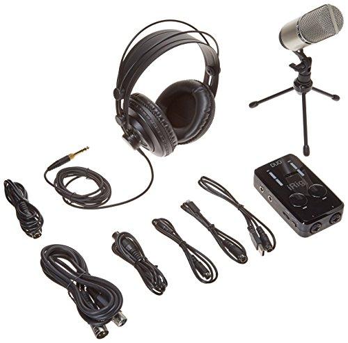 (IK Multimedia  iRig Pro Duo Studio Suite complete recording bundle for iPhone, iPad & Mac/PC)